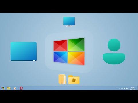 Rilis Juli 2021!!! Tema Windows 7 2021 Edition V2.0