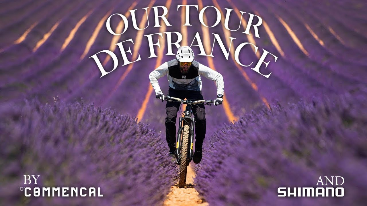 """Our Tour de France"" by COMMENCAL & SHIMANO with Kilian Bron"