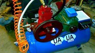 Siqilgan havo T40 va tayyorgarlik asosida kompressor