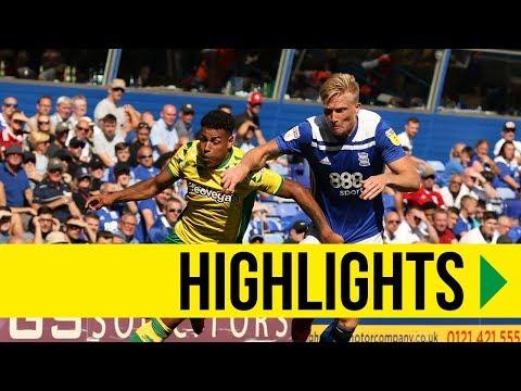 HIGHLIGHTS: Birmingham City 2-2 Norwich City
