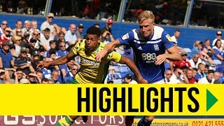 HIGHLIGHTS: Birmingham City 2-2 Norwich City