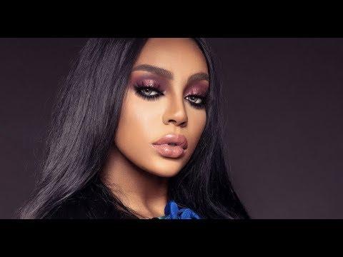 glam makeup dark skin / مكياج البشرة السمراء