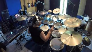 Iron Maiden - 2 Minutes to midnight drum cover