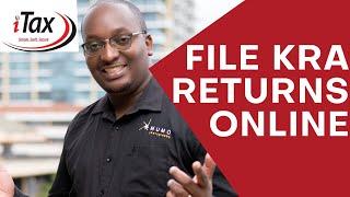 How To File KŔA Returns Online 2021 | Mumo