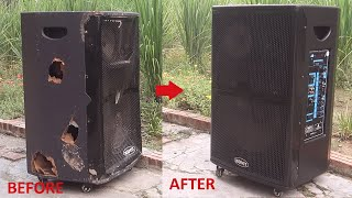 Rehabilitation of injured portable speakers  Design help 1 people you
