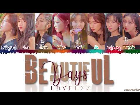 LOVELYZ 러블리즈 - &39;BEAUTIFUL DAYS&39;  Color CodedHanRomEng