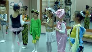 ХАРЬКОВСКАЯ БАЛЕТНАЯ ШКОЛА УРОК ЭТИКИ 0-Б 18.12.2015