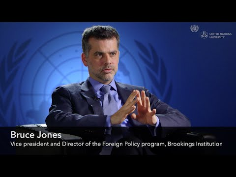 The Changing International Order and the Risk of Conflict, a Conversation with Dr Bruce Jones