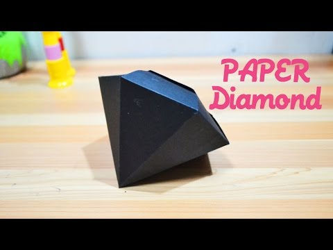 How To Make Paper Gems Diamond | DIY Paper Gem Diamond