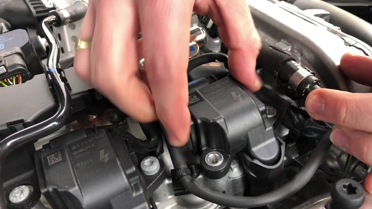 Pkw Zundkerzen Wechsel Mercedes Benz C180 Limousine Zundkerze