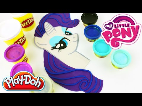 Thumbnail: ♥ Play Doh My Little Pony Rarity How to Make MLP Rarity Plasticine Creation