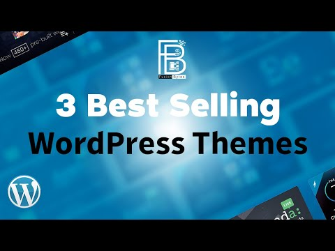3 Best Selling WordPress Themes by Themeforest 2020