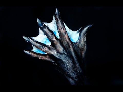 DIY Webbed Hand | Mermaid Hand Tutorial | 31 Days Of Halloween