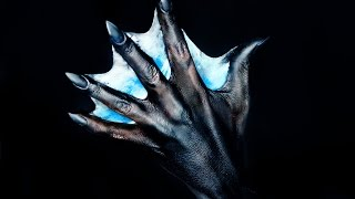 DIY Webbed Hand | Mermaid Hand Tutorial | 31 Days of Halloween