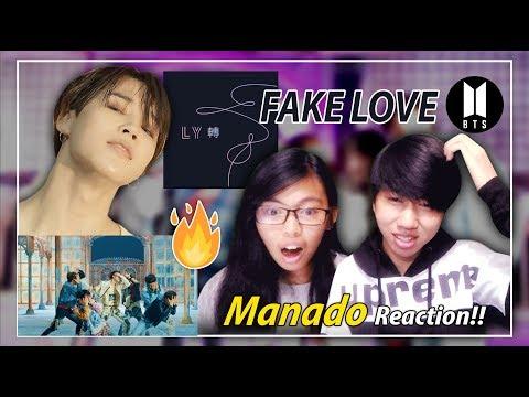 BTS 방탄소년단 'FAKE LOVE' | MV REACTION - Indonesia