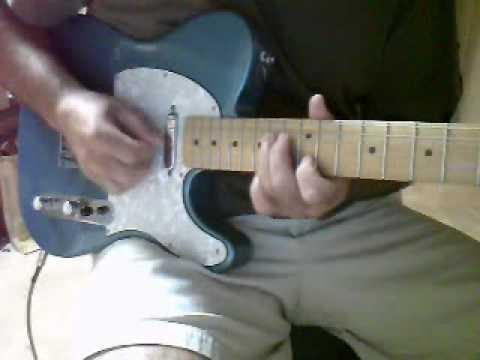 Slow blues improv using Fender G-DEC 3