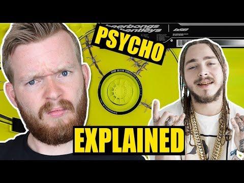 "Post Malone's Rapping Makes No Sense | ""Psycho"" Lyrics Explained"