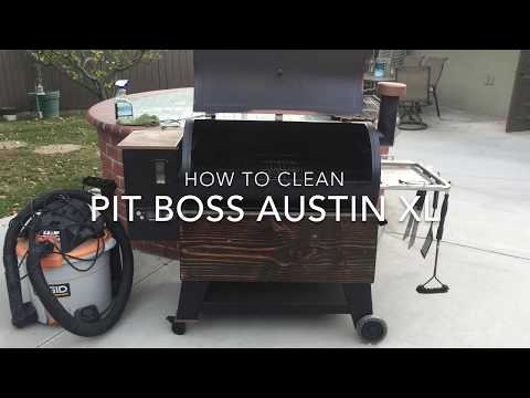 Pit Boss Pellet Grill Clean out