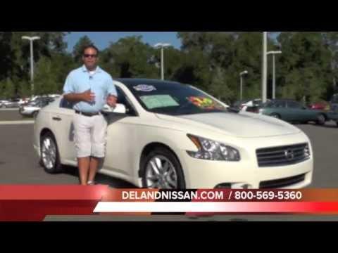 2009 Nissan Maxima Premium Package Sedan Dual Moonroof AC Drivers Seat Bose W062694A