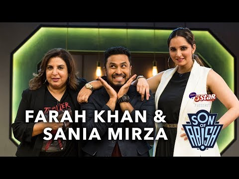 Son Of Abish feat. Farah Khan & Sania Mirza