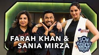 Son Of Abish feat. Farah Khan & Sania Mirza