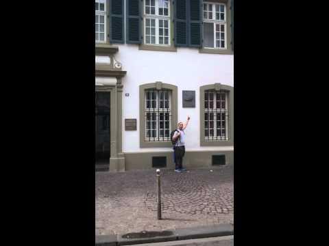 2015 TRIER GERMANY: Karl Marx's house