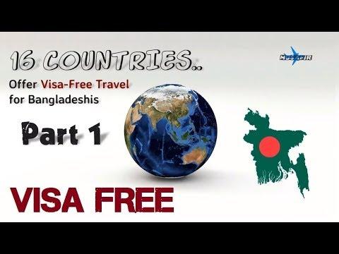 16 Countries Offer Visa Free Travel for Bangladeshi ✈ PART 01✈ Travel Info