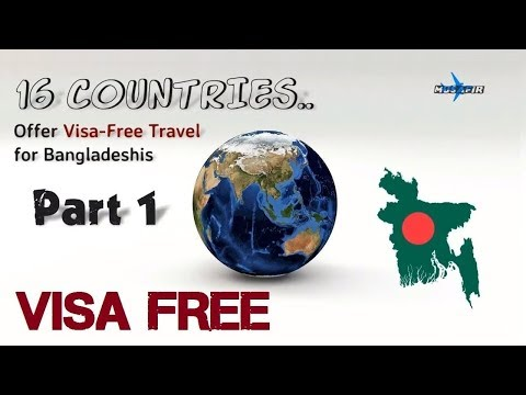 16 Countries Offer Visa Free Travel for Bangladeshi ✈ PART 01✈ Travel Info