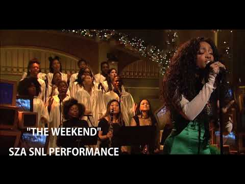 """The Weekend"" By SZA - SNL Performance Audio"