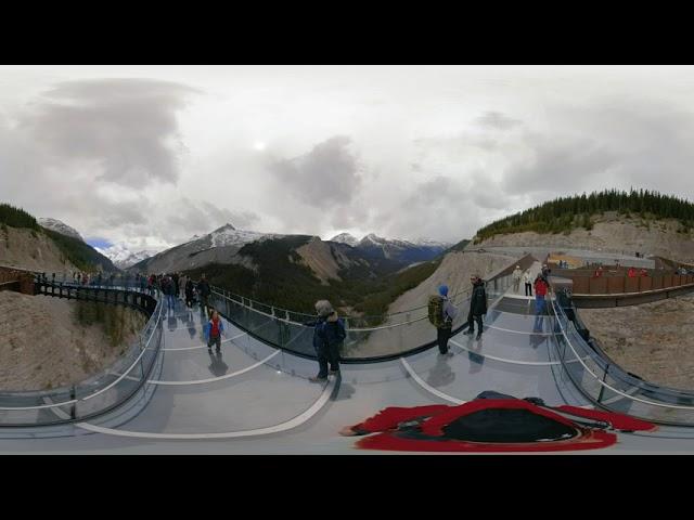 Columbia Icefield Skywalk - Video 360