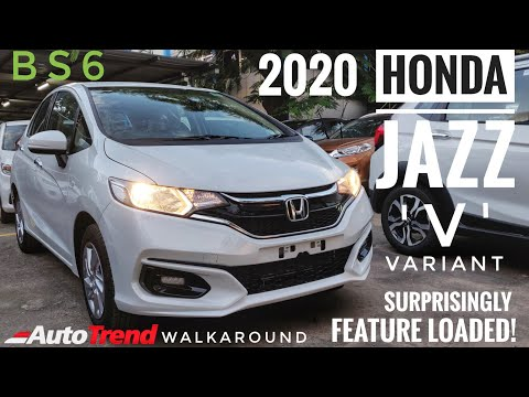 Honda Jazz V Variant - Most Detailed Walkaround Review #TeamAutoTrend !!