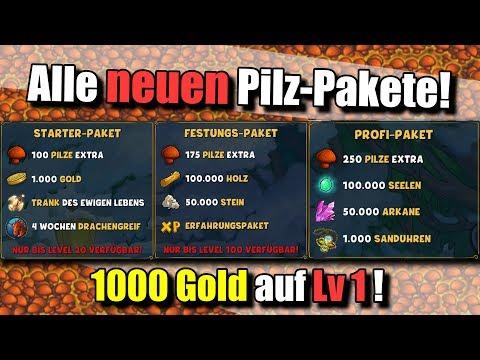 ⭐ Alle Neuen Pakete! 1000 Gold Auf Lv 1 !?⭐ Shakes & Fidget ⭐