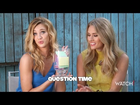 Yael Grobglas and Tori Anderson Have Some Fun with Watch!
