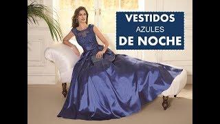 4182eb34d vestidos de fiesta color azul marino elegant evening dresses