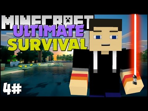 MINECRAFT: Ultimate Survival - Sabre de Luz, Casa e Dungeon Insana! #O4