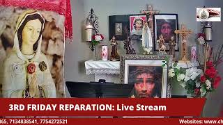 3RD FRIDAY REPARATION (JANUARY) LIVE STREAM