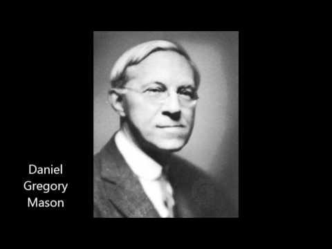 Daniel Gregory Mason: Quartet on Negro Themes (Coolidge Quartet, 1940)
