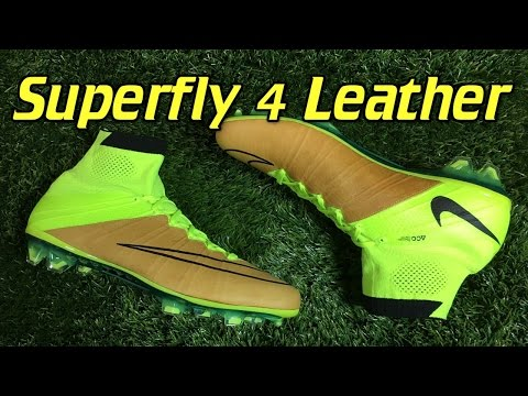 d7df1a85c860 K-Leather Nike Mercurial Superfly 4 Tech Craft Volt/Canvas - Review + On  Feet - YouTube