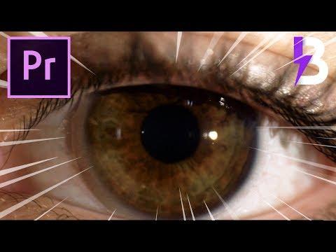 Tutorial TRANSIÇÃO ZOOM DENTRO DO OLHO no Adobe Premiere