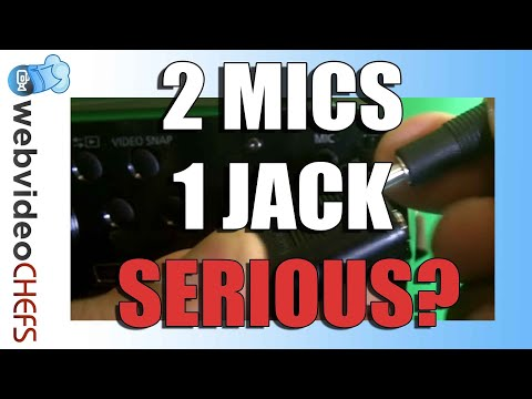 How to plug two mics into one jack