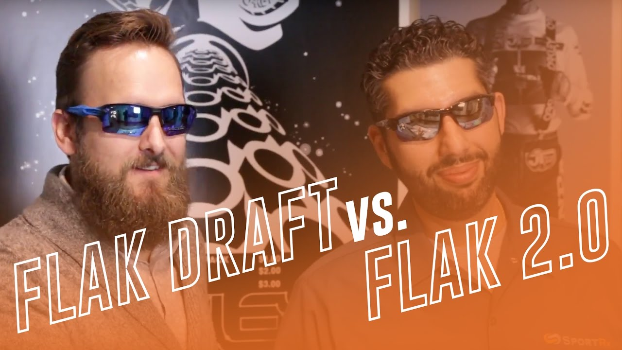 ffe12429b97e6 Oakley Flak Draft vs. Flak 2.0