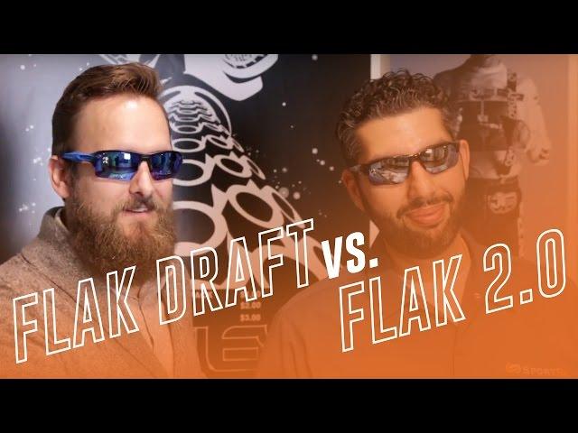 0d43d0419e77c Oakley Flak Draft vs. Flak 2.0