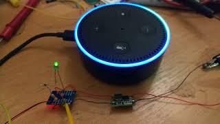 Amazon Alexa controlling light(ESP8266 12E)