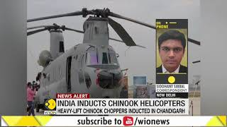 Boost for high-altitude operations: Indian Air Force inducts four Chinook helicopters