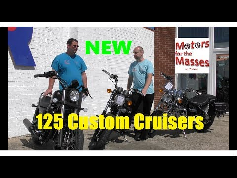 Custom Cruisers / Choppers 125 REVIEW Test ride