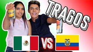 TRAGOS ECUATORIANOS VS MEXICANOS | KikeJav