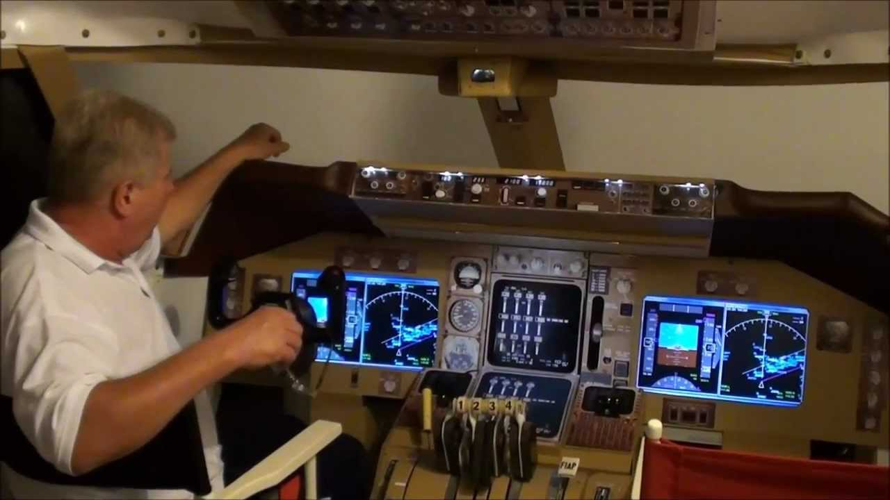 747 home cockpit for sale