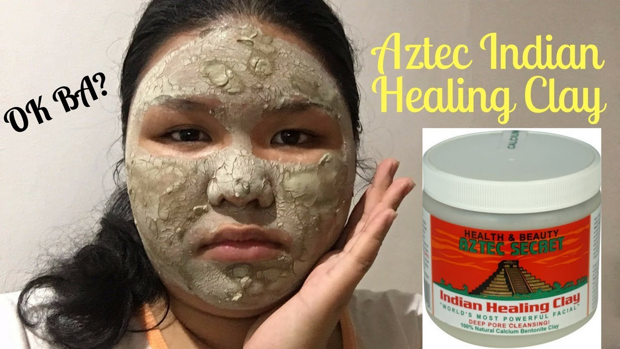 aztec indian healing clay mask review dickinson s witch hazel