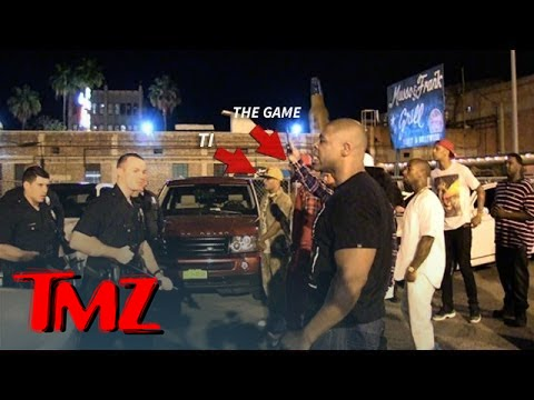 Tyga Reaches for Security Guard's Gun During Incident at Floyd Mayweather's ...