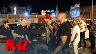 Game and T.I. In INTENSE Standoff With LAPD After Fight